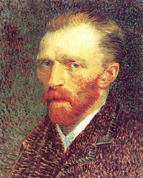 Self-portrait of Vincent van Gogh